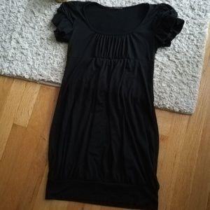 Black Soprano Mini Dress
